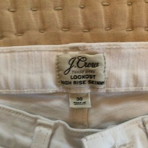 J Crew Lookout High Rise Skinny Jeans Size 30